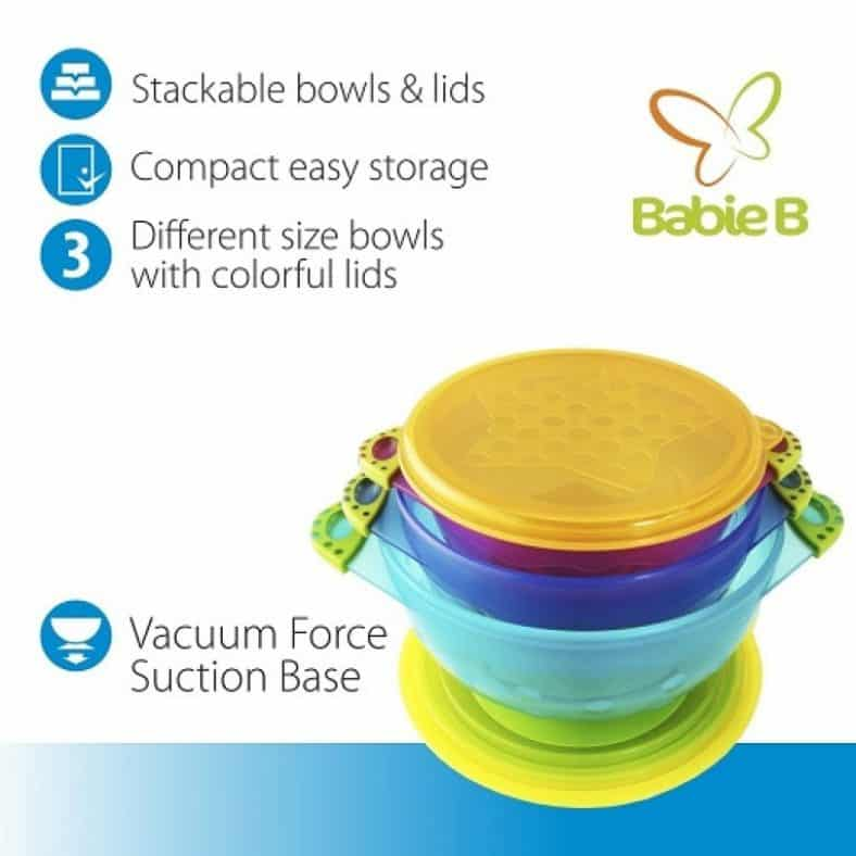 BabieB Spill Proof Best Baby Bowls Review 4