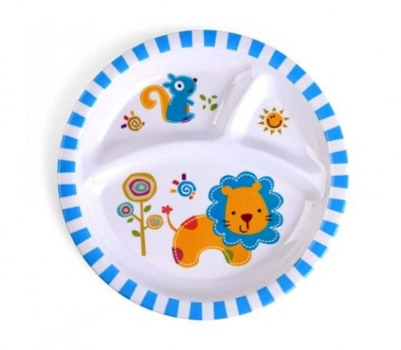 Culina Kids plate and Bowl Melamine Baby Dinner Set Review 4