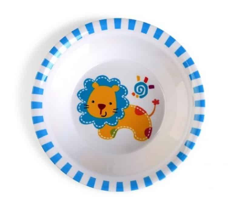Culina Kids plate and Bowl Melamine Baby Dinner Set Review 5