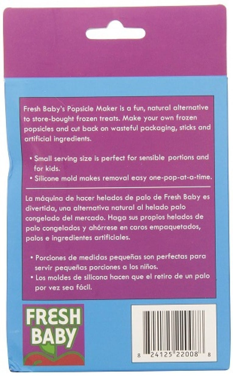 Fresh Baby Silicone Pop Maker Review 4