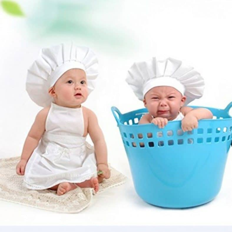 Great Deal Baby Chef Outfit 2 Piece Layette Review 3
