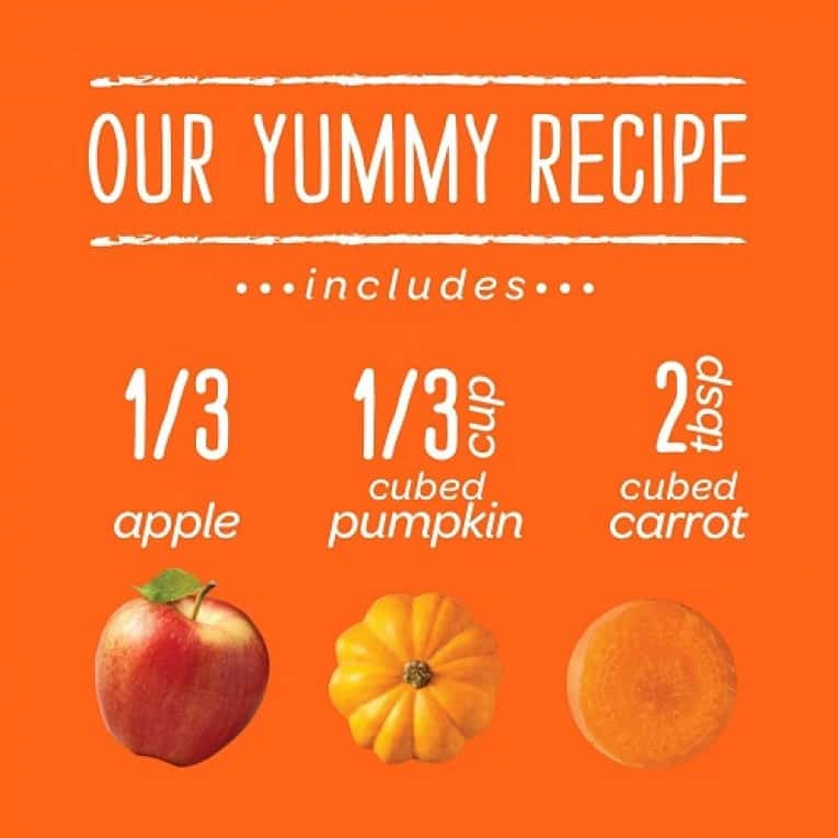 Happy Baby Clearly Crafted, Organic Baby Food, Stage 2, Apples, Pumpkin & Carrots, 4.0oz Clear Pouch (16 Count) 5