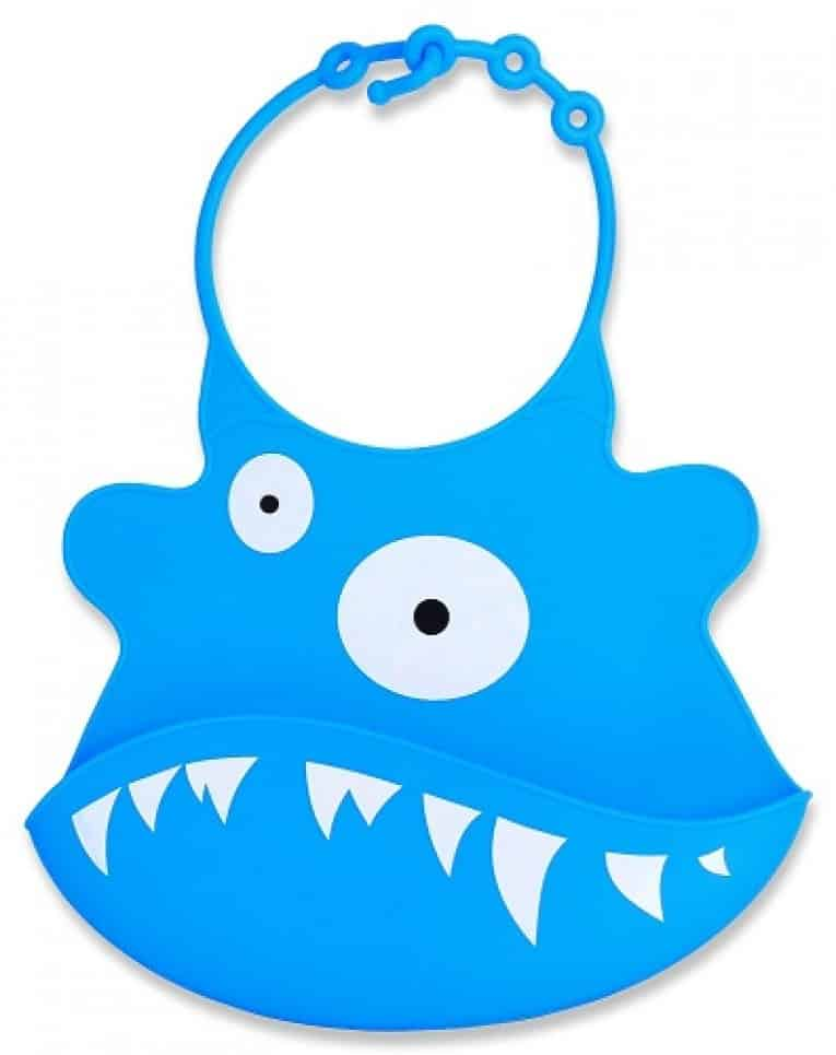 Jamika Products Best Silicone Bibs with Food Pockets Review 3
