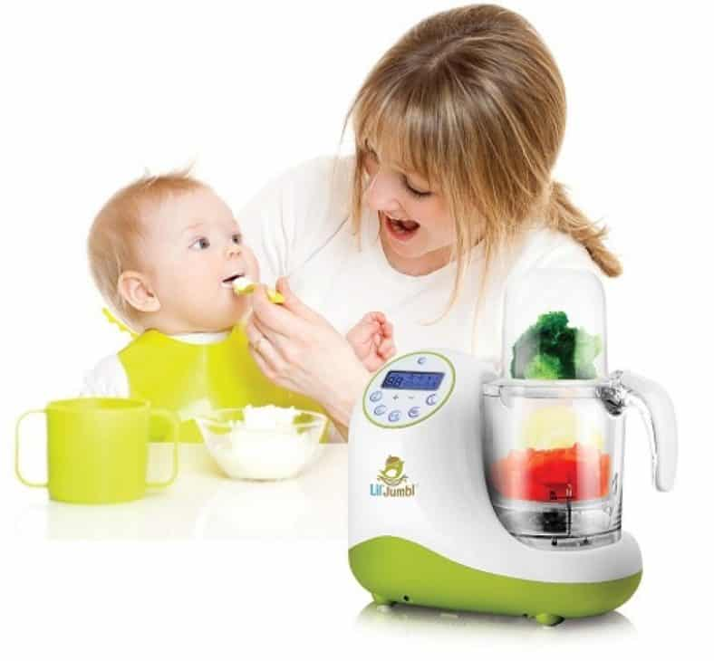 Lil' Jumbl Baby Food Maker 4