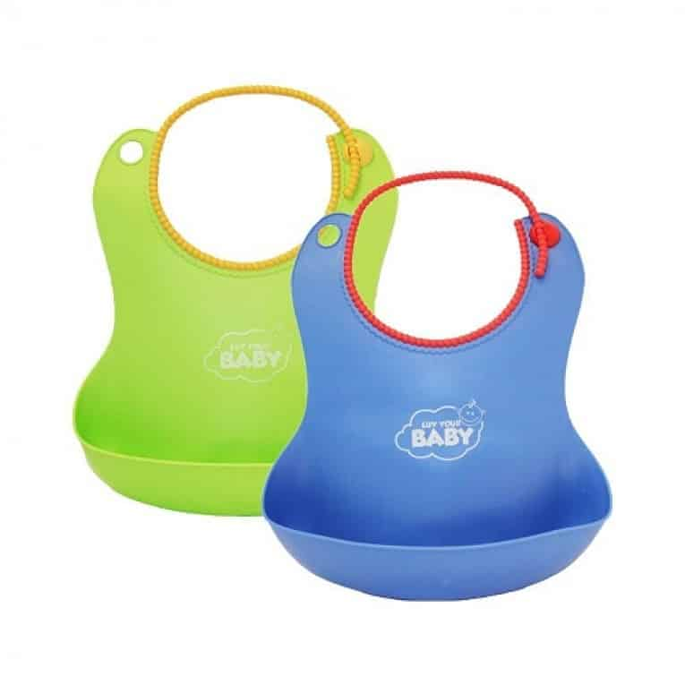 Luv Your Baby Silicone Bibs Review 4