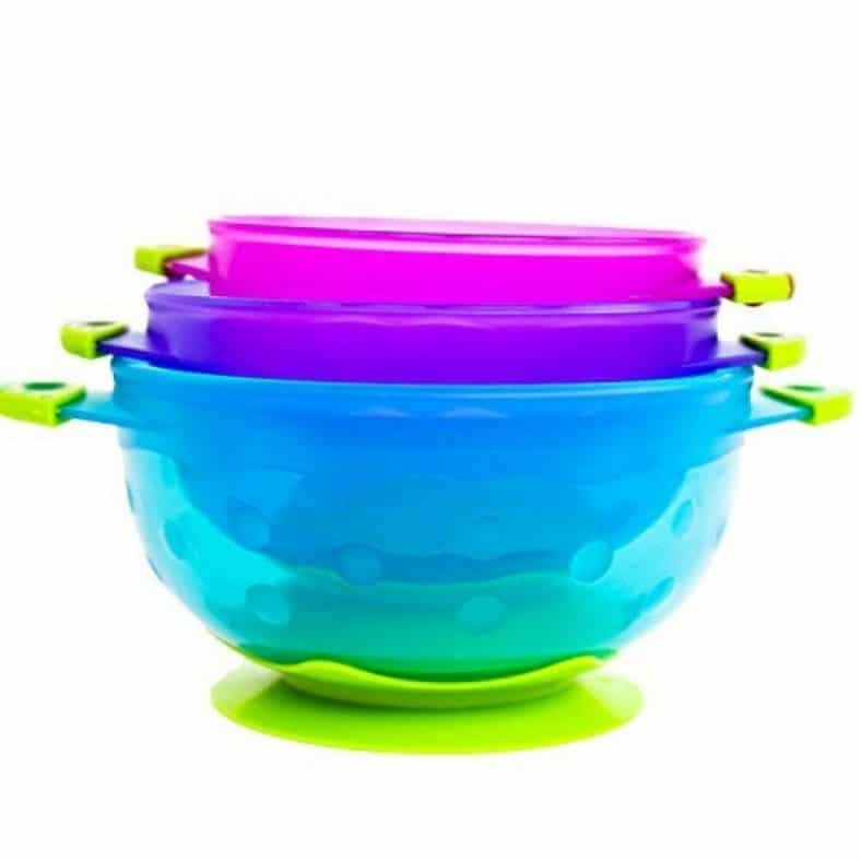 Luv Your Baby Spill Proof Baby Bowl Set 8