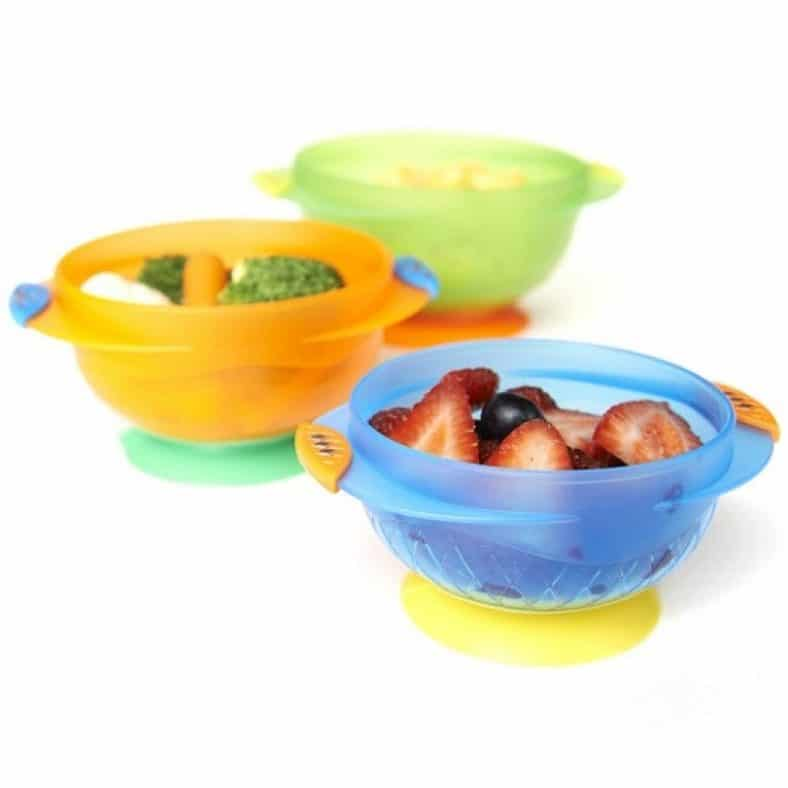 Munchkin Stay Put Suction Bowl, 3 Count Review 2