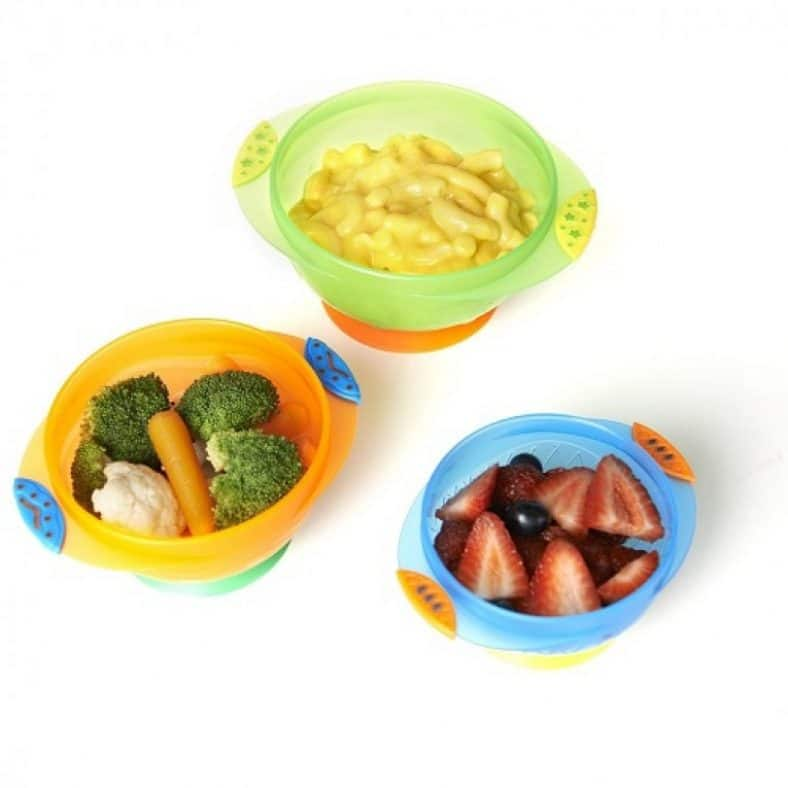 Munchkin Stay Put Suction Bowl, 3 Count Review 3