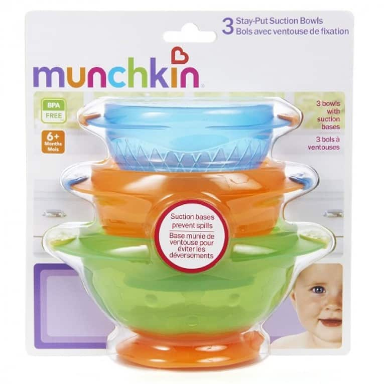 Munchkin Stay Put Suction Bowl, 3 Count Review 7