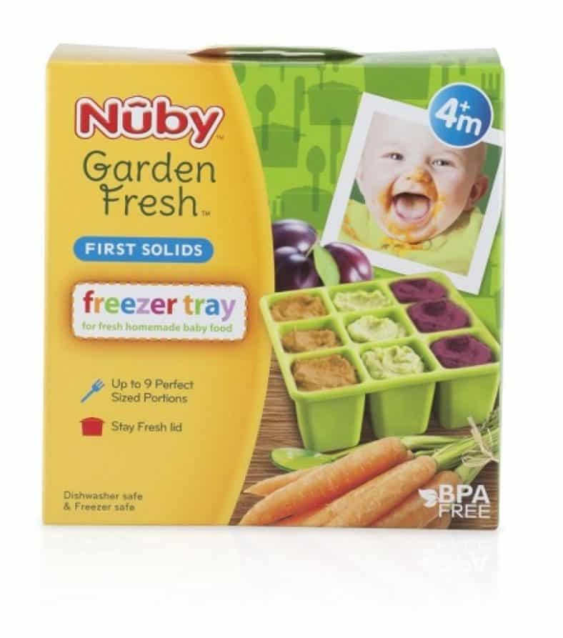 Nuby Garden Fresh Freezer Tray with Lid Review 2