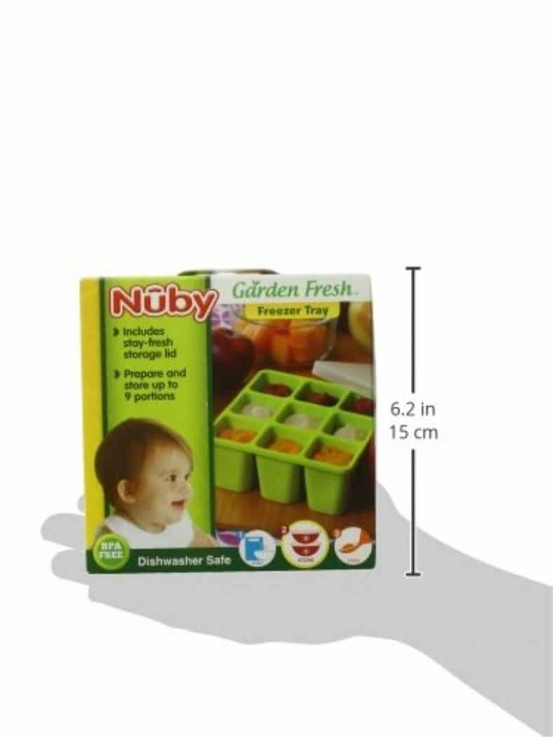 Nuby Garden Fresh Freezer Tray with Lid Review 7