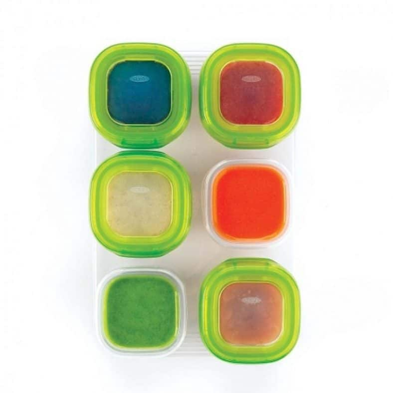OXO Tot Baby Blocks Freezer Storage Containers - Green 3