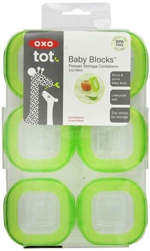 Oxo Tot Baby Blocks Freezer Containers Green Review