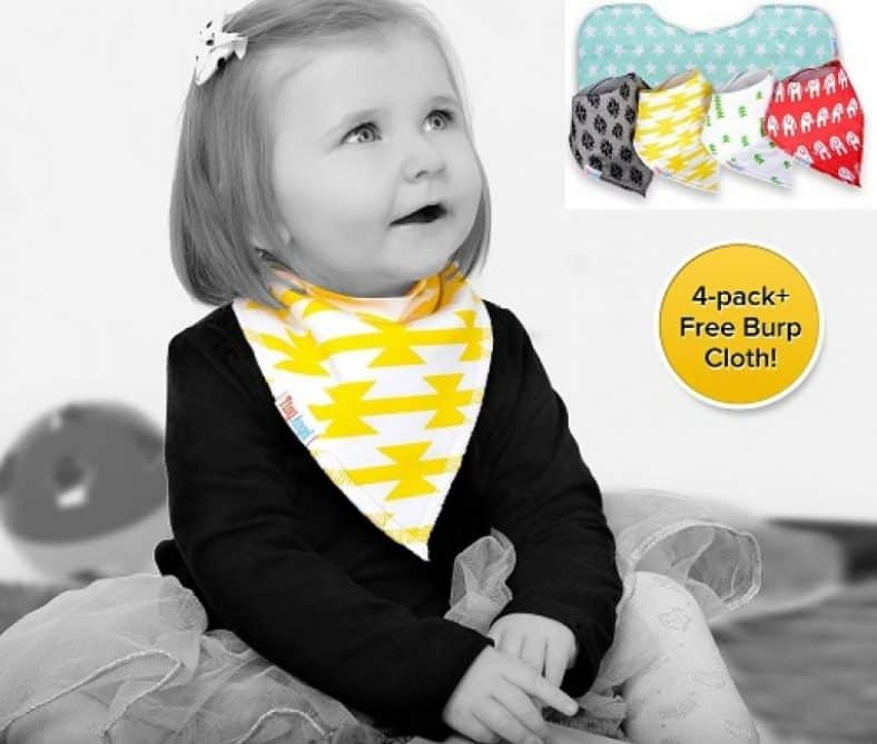 Tiny Angel Bandana Drool Baby Bibs Review 2