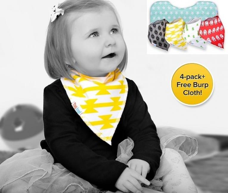 Tiny Angel Bandana Drool Baby Bibs Review 2